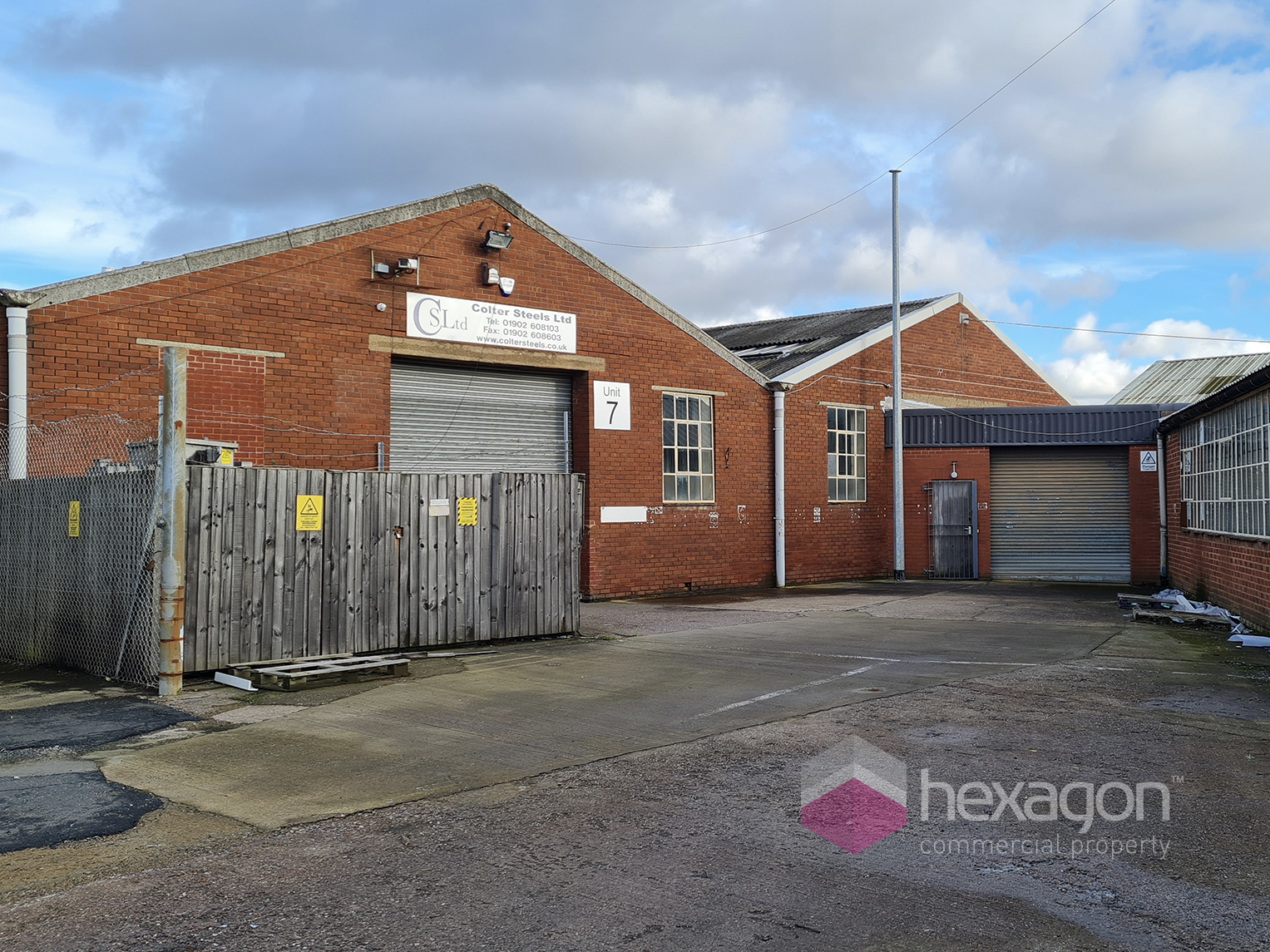 0 bed Light Industrial for rent in Willenhall. From Hexagon Commercial Property