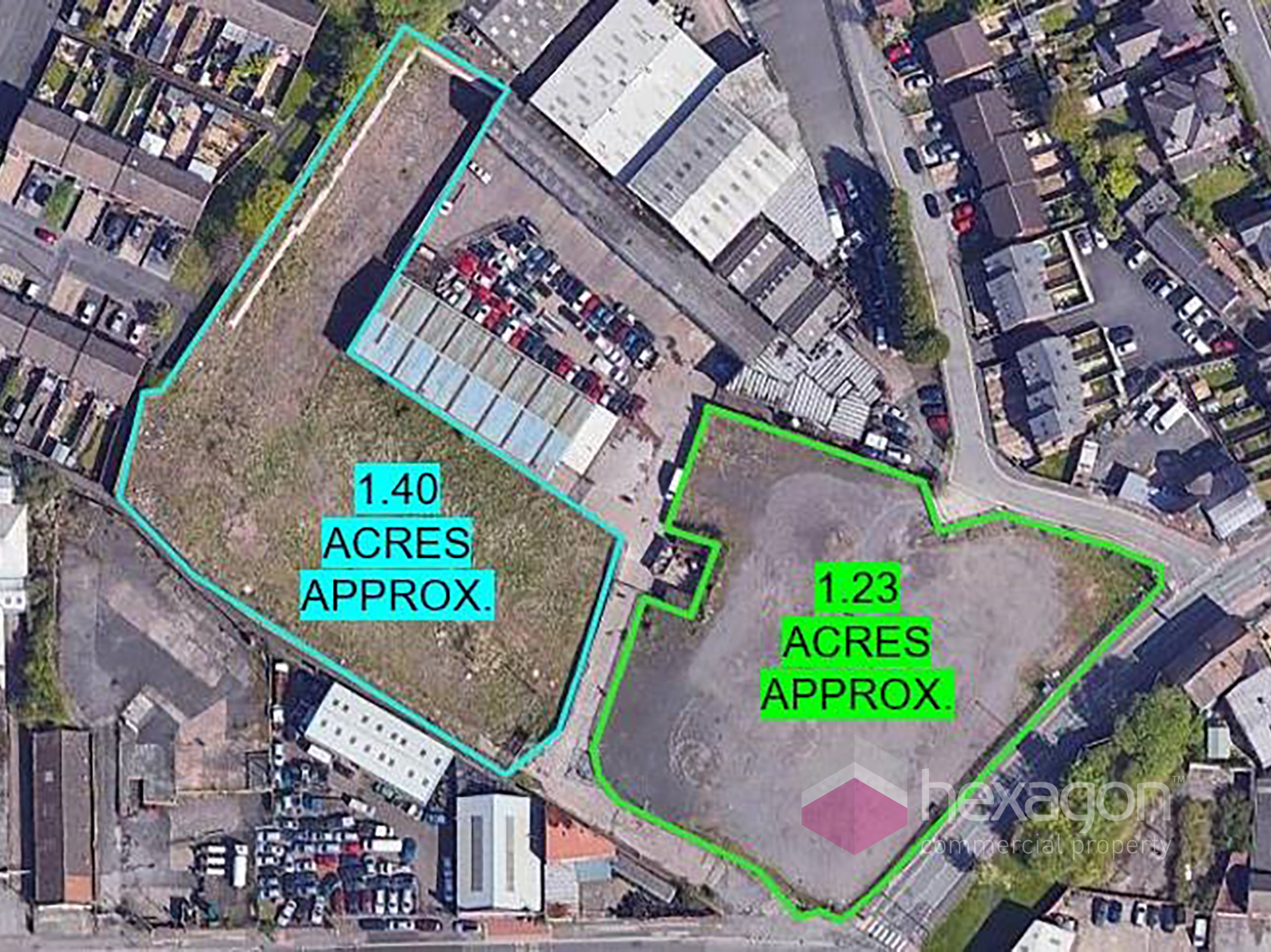 0 bed Land (Commercial) for rent in Cradley Heath. From Hexagon Commercial Property